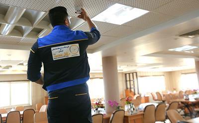 جلسه آموزشی نحوه اجرای صحیح سیستم های ایمنی، اعلام و اطفاء حریق