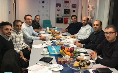 برگزاری جلسه هیئت مدیره انجمن شرکت های ایمنی و مهندسی حریق